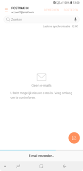 Samsung Galaxy A7 (2018) - E-mail - hoe te versturen - Stap 20