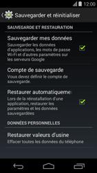 Acer Liquid E600 - Device maintenance - Retour aux réglages usine - Étape 6