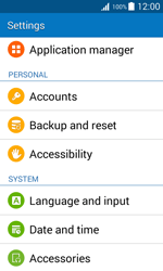 Samsung J100H Galaxy J1 - Device - Reset to factory settings - Step 5