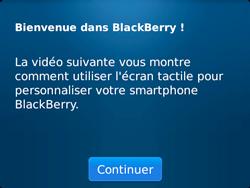 BlackBerry 9720 - Premiers pas - Créer un compte - Étape 6