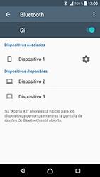 Sony Xperia XZ - Android Nougat - Bluetooth - Conectar dispositivos a través de Bluetooth - Paso 8