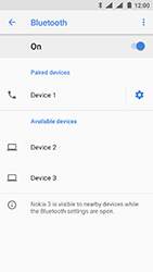Nokia 3 (DualSim) - Android Oreo - Bluetooth - Pair with another device - Step 9