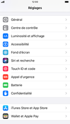 Apple iPhone 8 - iOS 13 - Sécurité - activéz le code PIN de l'appareil - Étape 3