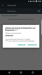 BlackBerry DTEK 50 - Bluetooth - Conectar dispositivos a través de Bluetooth - Paso 7