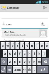 LG E610 Optimus L5 - E-mail - envoyer un e-mail - Étape 5