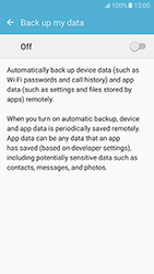 Samsung Galaxy S7 (G930) - Device maintenance - Create a backup of your data - Step 6