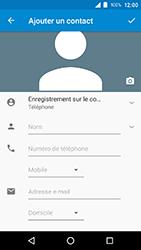 Crosscall Action X3 - Contact, Appels, SMS/MMS - Ajouter un contact - Étape 6