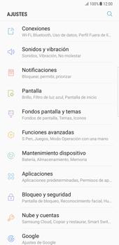 Samsung Galaxy Note 8 - Red - Seleccionar el tipo de red - Paso 4
