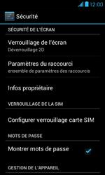 Bouygues Telecom Bs 401 - Sécuriser votre mobile - Personnaliser le code PIN de votre carte SIM - Étape 5