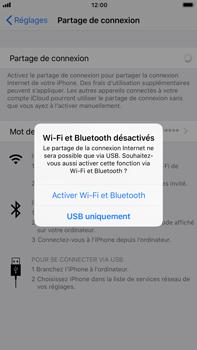 Apple iPhone 7 Plus - iOS 11 - Internet et connexion - Utiliser le mode modem par USB - Étape 6