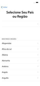 Apple iPhone X - iOS 12 - Primeiros passos - Como ativar seu aparelho - Etapa 6