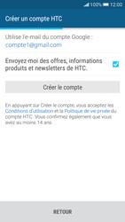 HTC Desire 626 - Premiers pas - Créer un compte - Étape 29