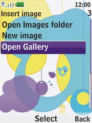 Nokia 7310 supernova - MMS - Sending pictures - Step 13