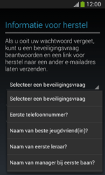 Samsung Galaxy S3 Mini VE (I8200N) - Applicaties - Account aanmaken - Stap 14