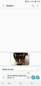 Samsung Galaxy A6 - MMS - envoi d'images - Étape 19