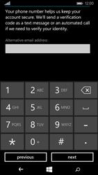 Microsoft Lumia 535 - Applications - Create an account - Step 20