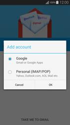 Samsung G800F Galaxy S5 Mini - E-mail - Manual configuration (gmail) - Step 7