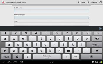 Samsung N8020 Galaxy Note 10-1 LTE - E-mail - Handmatig instellen - Stap 12