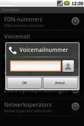 Samsung I5700 Galaxy Spica - Voicemail - Handmatig instellen - Stap 6