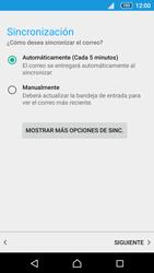 Sony Xperia Z5 - E-mail - Configurar correo electrónico - Paso 20