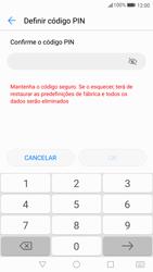 Huawei P10 - Segurança - Como ativar o código de bloqueio do ecrã -  8