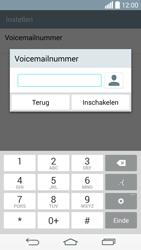 LG G3 S (D722) - Voicemail - Handmatig instellen - Stap 8