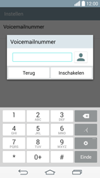 LG G3 s 4G (LG-D722) - Voicemail - Handmatig instellen - Stap 8
