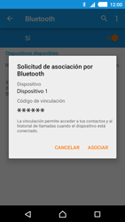 Sony Xperia M4 Aqua - Bluetooth - Conectar dispositivos a través de Bluetooth - Paso 7