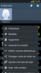 Samsung Galaxy S4 - Contact, Appels, SMS/MMS - Ajouter un contact - Étape 10