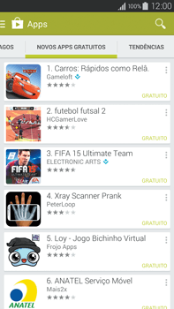 Samsung N910F Galaxy Note 4 - Aplicativos - Como baixar aplicativos - Etapa 11