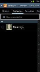 Samsung I9300 Galaxy S III - Mensajería - Escribir y enviar un mensaje multimedia - Paso 6