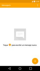 LG K10 4G - Mensajería - Escribir y enviar un mensaje multimedia - Paso 4