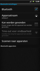 Sony LT22i Xperia P - Bluetooth - headset, carkit verbinding - Stap 7