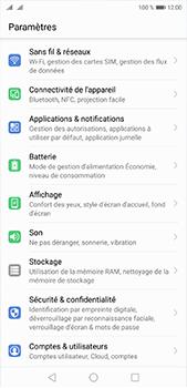 Huawei P20 Pro - Réseau - Sélection manuelle du réseau - Étape 3