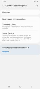 Samsung Galaxy A70 - Données - créer une sauvegarde avec votre compte - Étape 5