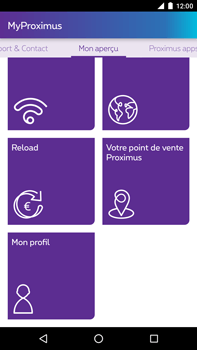 Huawei Google Nexus 6P - Applications - MyProximus - Étape 21