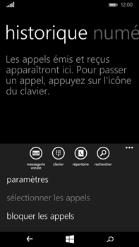 Microsoft Lumia 640 XL - Messagerie vocale - Configuration manuelle - Étape 5