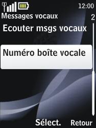 Nokia 2730 classic - Messagerie vocale - configuration manuelle - Étape 6