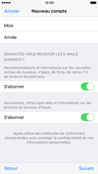 Apple iPhone 6s iOS 10 - Applications - Créer un compte - Étape 17