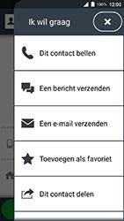 Doro 8035-model-dsb-0170 - Contacten en data - Contacten overzetten via Bluetooth - Stap 6