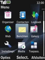 Nokia 2730 classic - SMS - handmatig instellen - Stap 3