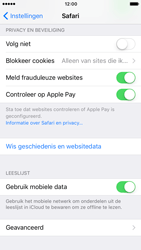 Apple iPhone 7 (Model A1778) - Privacy - Cookies en geschiedenis wissen - Stap 4