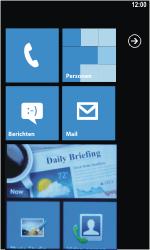 Samsung I8350 Omnia W - E-mail - E-mails verzenden - Stap 1