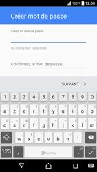 Sony Xperia XZ Premium - Applications - Créer un compte - Étape 13