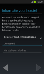 Samsung Galaxy Core (I8260) - Applicaties - Account aanmaken - Stap 13