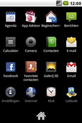 LG GW620 - SMS - handmatig instellen - Stap 3