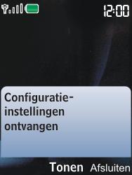 Nokia 6600i slide - Automatisch instellen - Automatisch Internet instellen - Stap 3