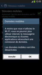 Samsung Galaxy S4 Mini - Internet et connexion - Désactiver la connexion Internet - Étape 7
