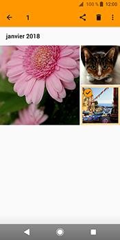 Sony Xperia XZ2 - Photos, vidéos, musique - Envoyer une photo via Bluetooth - Étape 9