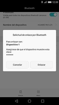 Huawei GX8 - Bluetooth - Conectar dispositivos a través de Bluetooth - Paso 6
